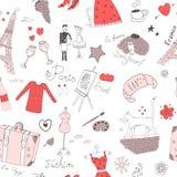 Sans couture français Image stock