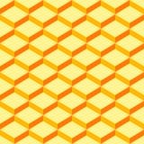 Sans couture-modèle-envelopper-papier-jaune-fond Image libre de droits