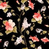 Sans couture  modèle lilas Photo libre de droits