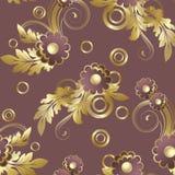 Sans joint avec des fleurs de claret illustration de vecteur
