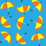 Sans joint des parapluies illustration de vecteur