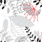Sans joint floral Photographie stock