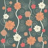 Sans joint floral Image libre de droits