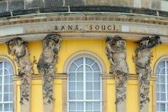 Sans le palais de Souci Photo stock