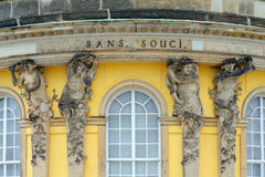 Sans Souci Palace Stock Photo