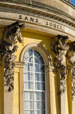 Sans Souci. Palace of Frederick the Great, King of Prussia, in Potsdam, near Berlin Stock Photo