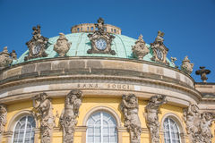Sans Souci Palace, Potsdam. Stock Photo