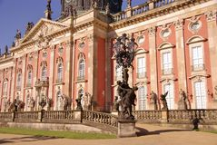 Sans souci in Potsdam Stock Photography