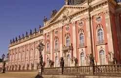 Sans souci in Potsdam Royalty Free Stock Photos