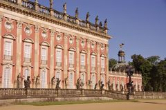 Sans souci in Potsdam Royalty Free Stock Images