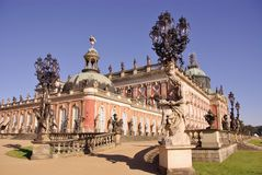 Sans souci in Potsdam Stock Photos