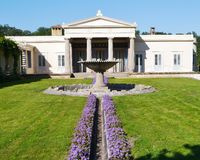 Sans souci in Potsdam in summer Royalty Free Stock Photography