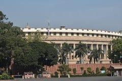 Sansad Bhavan Neu-Delhi lizenzfreies stockbild