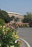 Sansad Bhavan New Delhi fotografering för bildbyråer