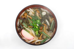 Sansai udon noodles Royalty Free Stock Photo
