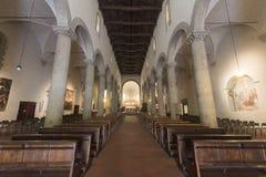 Sansepolcro (Τοσκάνη, Ιταλία) Στοκ Φωτογραφίες