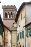 Sansepolcro (Τοσκάνη, Ιταλία) Στοκ Φωτογραφία