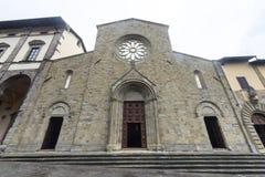 Sansepolcro (Тоскана, Италия) Стоковая Фотография RF