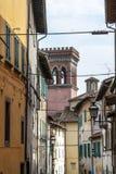 Sansepolcro - edificios Fotografía de archivo