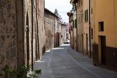 Sansepolcro Italien In der alten Stadt lizenzfreie stockfotografie