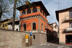 Sansepolcro Italien In der alten Stadt Stockbilder