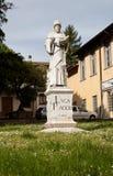SANSEPOLCRO, ITALIEN Monument Luca Pacioli stockfoto