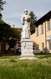 SANSEPOLCRO, ITALY. Monument Luca Pacioli. Stock Photo