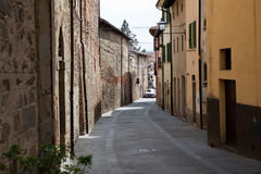 Sansepolcro Italy Na cidade velha Fotografia de Stock Royalty Free