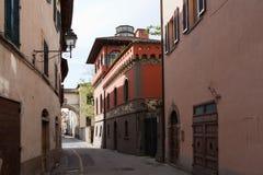 Sansepolcro. Italy. In the old town. Borgo Sansepolcro - county (city) in the Italian region Tuscany, in the province of Arezzo Stock Photography