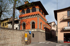 Sansepolcro. Italy. In the old town. Borgo Sansepolcro - county (city) in the Italian region Tuscany, in the province of Arezzo Stock Images