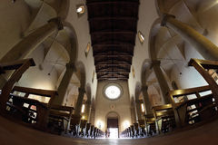 Sansepolcro katedra Fotografia Royalty Free