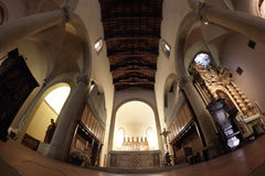 Sansepolcro-Kathedrale Stockfoto