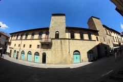 Sansepolcro Street Italy Royalty Free Stock Photography