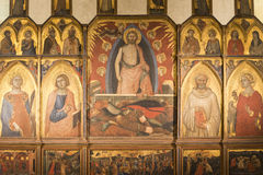 Sansepolcro (Toscânia, Itália) Fotografia de Stock Royalty Free