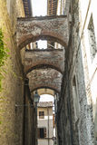 Sansepolcro (Toscana) Fotografia Stock Libera da Diritti