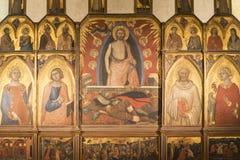 Sansepolcro (Toscane, Italie) Photographie stock libre de droits
