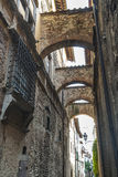 Sansepolcro (Toscanië) Stock Afbeeldingen