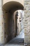 Sansepolcro (Toscanië, Italië) Stock Afbeeldingen