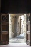 Sansepolcro (Tuscany, Italien) Arkivbild