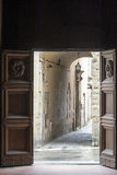 Sansepolcro Tuscany, Włochy (,) Fotografia Stock