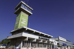 Sansibar-Flughafen Stockfotos