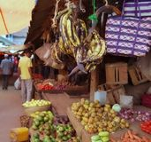 Sansibar-Markt Lizenzfreies Stockfoto