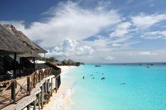 Sansibar-Strand Stockfoto