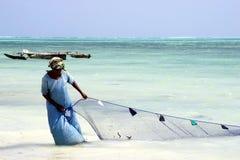 Sansibar-Strand Stockbild