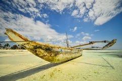 Sansibar-Strand Tansania Stockfotografie