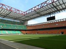 Sansiro / Giuseppe Meazza stadium. MILANO, ITALY - 6 JANUARY 2015 - Empty Sansiro / Giuseppe Meazza stadium, on 6 January 2015 Milano Stock Image