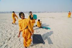 sanskrit deltagare Fotografering för Bildbyråer