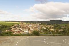 Sansol city, road to Santiago de Compostela, Navarre Stock Image