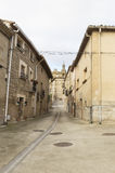 Sansol city, road to Santiago de Compostela, Navarre Stock Photo