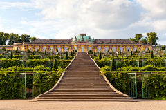 Sanssouci公园 免版税库存照片